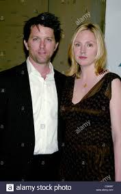 Jon Patrick Walker and his wife Hope Davis at the opening night of Stock  Photo - Alamy