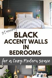 The shiny brass pineapple decor, paired with banana leaf prints and hot pink accents was big on instagram for a while, but expect to see a lot less banana leaf this year. Stunning Black Accent Walls In Bedrooms For A Modern Boho Look