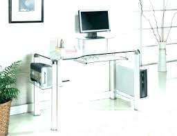 glass office furniture computer desk at glass office furniture top blue long workstation black small corner