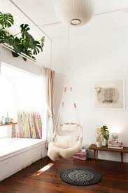 how great is this hanging chair for a reading nook