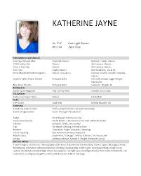 Resume Pdf Resumes Katherine Jayne Examples Files Model Free