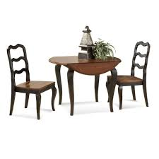 amazing small dining table with leaf furniture round double drop ladder chairs painted dark brown color for very spaces ideas room tables white bench oak
