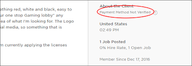 upwork cover letter mistake payment method not verified