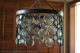 emery indooroutdoor recycled glass chandelier one hundred dollars a month