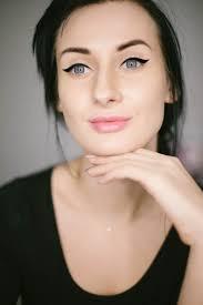 attractive beautiful beauty brunette elegant eye eye makeup face fashion female glamour lips make up