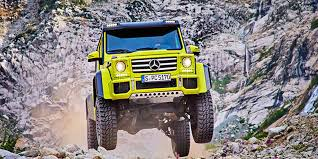 Pricing for the base g550 starts around $123,000, but the g550 4x4 squared has a starting price of $225,925. Mercedes Benz G500 4x42 The G Wagen Squared Or Something