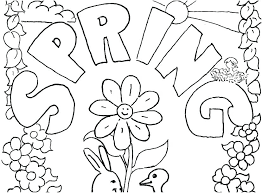 Spring Flowers Printable Coloring Pages Printable Coloring Pages