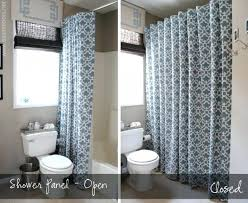shower curtain vs glass door tub or doors designs instead of in leave shower curtain open