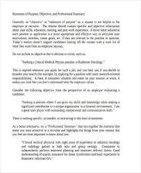 7 Statement Of Purpose Examples Samples Pdf