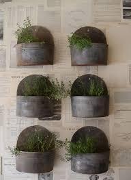 garden wall planters on metal planter revistarecrearte com in outdoor idea 10