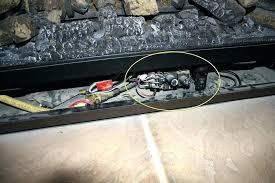 gas fireplace valve replacement gas fireplace shut off valve repair