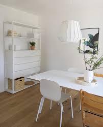 Esszimmer Regal Weiß White Lampe Hängelampe E