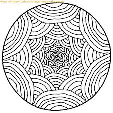 Coloriage De Mandala Facile 10 Ibukijima Pinterest Coloriage
