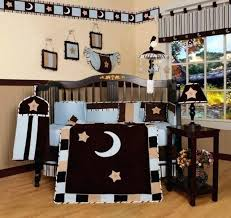 geenny crib bedding sets blue moon and star piece crib bedding set machine washable new baby