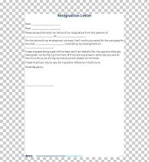 Resignation Of Employment Cover Letter Letter Of Resignation English Application For