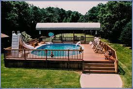 above ground swimming pool ideas. Unique Swimming Abovegroundpoolremodelingideas2 Inside Above Ground Swimming Pool Ideas