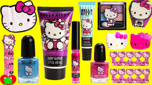 o kitty mega cosmetics set and surprises