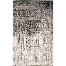 safavieh rugs 8x10. Retro Black/Light Grey 3 Ft. X 4 Area Rug Safavieh Rugs 8x10 V