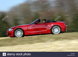 BMW 3 Series bmw z4m roadster : BMW Z4 M Roadster, model year 2006-, red, driving, side view ...