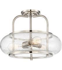 16 inch semi flush mount ceiling light