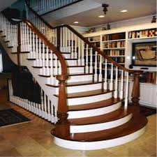 wood stair railing. Perfect Railing Wooden Staircase Railings Intended Wood Stair Railing