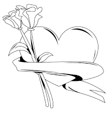 Rose Art Coloring Pages At Getdrawingscom Free For Personal Use