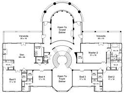 Majestic Double Staircase - 12225JL floor plan - 2nd Floor