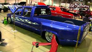 90's Chevy C3500 Dually Truck BAGGED on 22