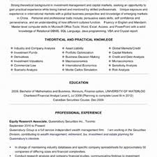 Cover Letter Market Research Resume Samples Beautiful Equity Equity