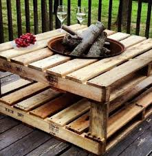 table fire pit. fire pit ideas diy outdoor living that won\u0027t break the bank | pallet pit, table and dark stains r