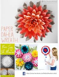 First, download design #59 which is my free pattern (see the bottom of this post) and cut it out. Free Templates Tutorials For Making Paper Flowers With Cricut Or Silhouette