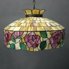 stained glass chandelier arts and crafts arts crafts school leaded stained glass chandelier circa for stained