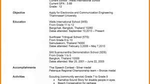 First Resume Formidable Nursing Student First Resume With Sample For Fearsome 86