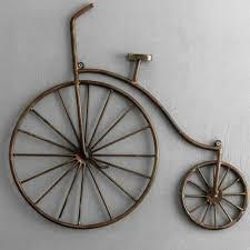 bicycle wall art सज वट द व र क