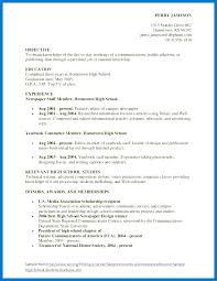 How To Write A Resume For High School Students Impressive High School Student Resume Examples Xpopblog