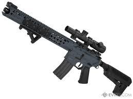 Krytac War Sport Licensed Lvoa C M4 Carbine Airsoft Aeg Rifle Model