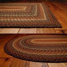 best home glamorous oval rugs 4x6 in biscotti cotton braided rug primitive star quilt