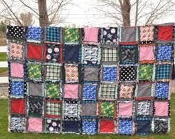 Ruffle Flower Rag Quilt Pattern Girl Quilt Pattern Sewing & Easy Peasy Rag Quilt Patterns - Twin Size Quilt Pattern - Easy Quilt  Patterns - Simple Adamdwight.com