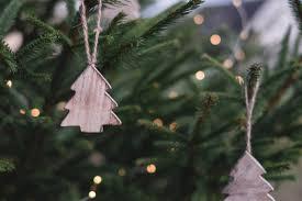 Christmas Ornaments On Christmas Tree Free Stock Photo