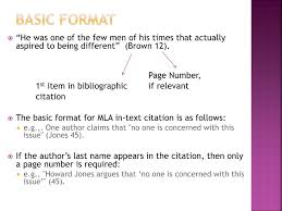 Ppt Mla Citation Stew Powerpoint Presentation Id2612613