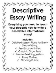 problem solution essay writing problem solution essay  everything you need to teach descriptive informational essay writing great for 4th 8th grade