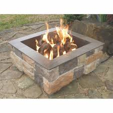 irresistible outdoor fire pit kits gas outdoor fire pit