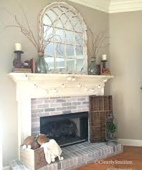 decor above fireplace mantel ideas for mantels f