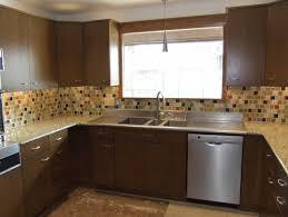 Mid Century Modern Kitchens Kitchen Mid Century Modern Kitchen Backsplash Featured