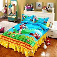 super mario brothers bedding sheet set