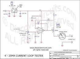 circuit 4 20ma current loop tester circuits designed by circuit 4 20ma current loop tester designed by dave johnson p e nov 2