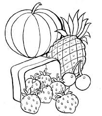Small Picture Fresh Food Coloring Page 85 For Free Colouring Pages with Food