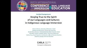 CARLA Conference on Immersion and Dual Language Education 2016: Invited  Symposia