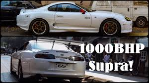India's fastest supra! 1000bhp - YouTube