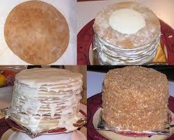 15 Layer Russian Honey Cake Recipe Genius Kitchen